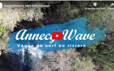 MEO River Concept présente ANNECY WAVE