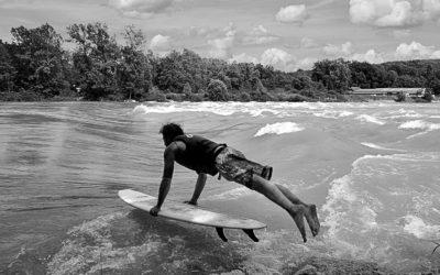 Inauguration de l'association « Surfeurs d'eau Douce »!