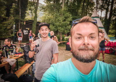 21 août 2018, sortie Paddle Barbecue